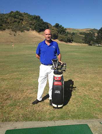 Hercules, CA golf instructor adam eisner